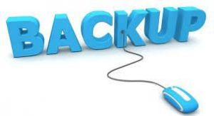 back-up maken